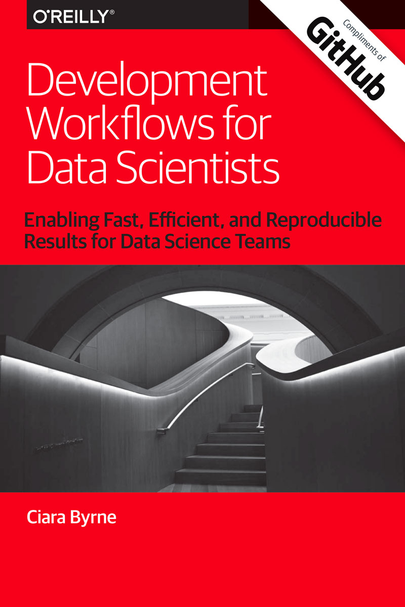 Cover image from Development Workflows for Data Scientists eBook